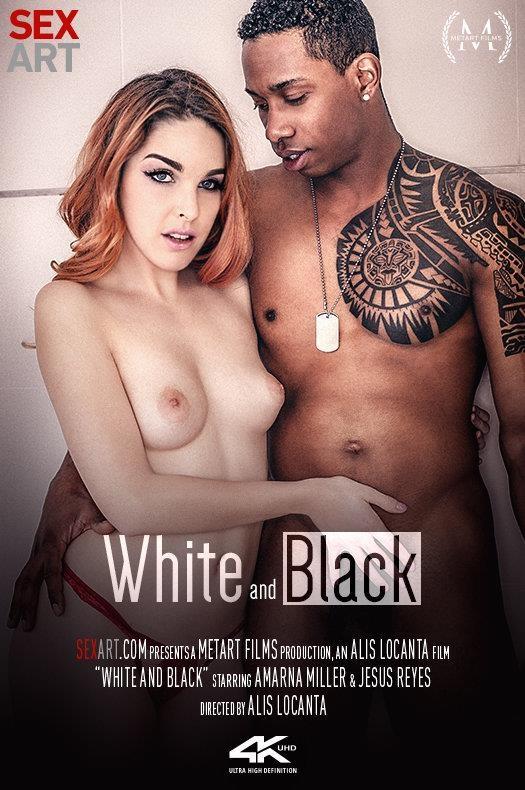 SexArt, MetArt: Amarna Miller - White and Black (SD/360p/270 MB) 19.04.2017