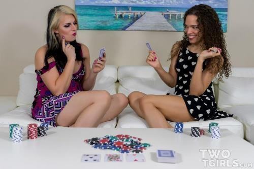 Sydney Farron & Chloe Wilcox - A Game of Strip Poker [FullHD, 1080p] [Twotgirls.com]
