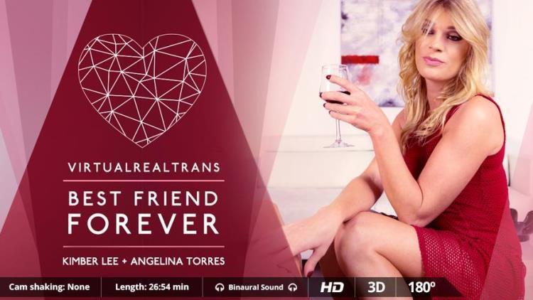 Angelina Torres & KimberLee (Kimber Lee) / Best Friends Forever [VirtualRealTrans / FullHD]