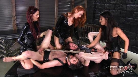 FemdomEmpire: Kendra James, Sablique Von Lux, Tangent - Female Rule (FullHD/1080p/3.62 GB) 21.04.2017