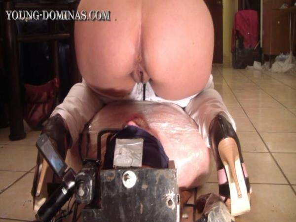 Wrapped up and Filled up until he Pukes (FullHD 1080p)