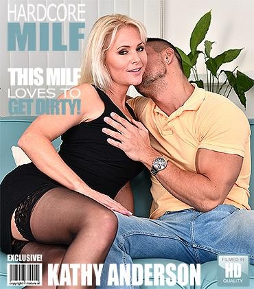 Mature.nl / Mature.eu [Kathy Anderson (38) - Hot MILF fucking and sucking] FullHD, 1080p