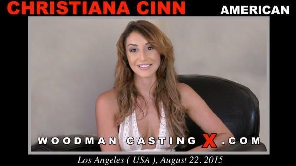 Christiana Cinn - Casting X 156 [WoodmanCastingX / SD]