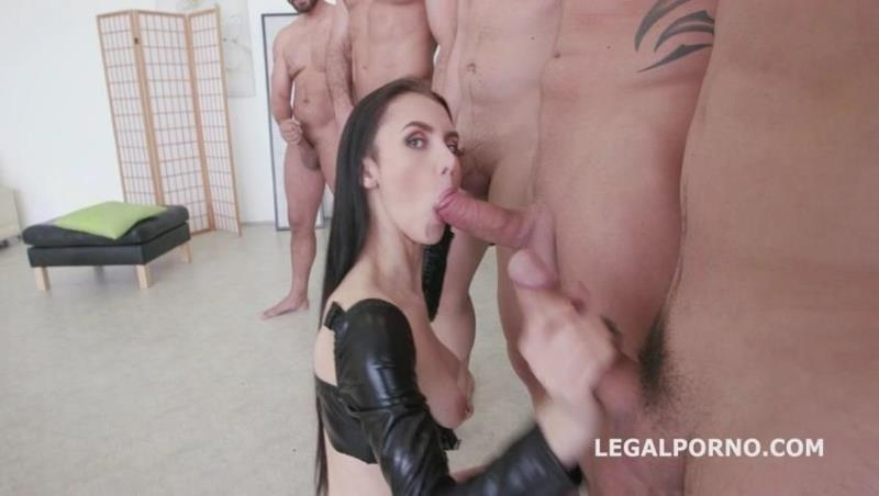 LegalPorno.com: 7on1 Double Anal GangBang with Crystal Greenvelle GIO346 [SD] (921 MB)
