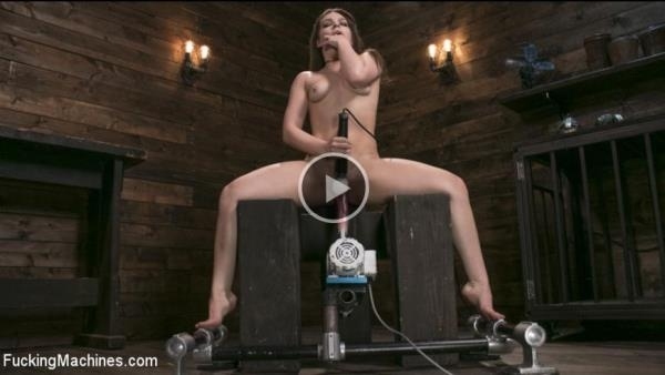 Kimber Woods - Insatiable Sex Vixen Gets Power Fucked - FuckingMachines.com / Kink.com (HD, 720p)
