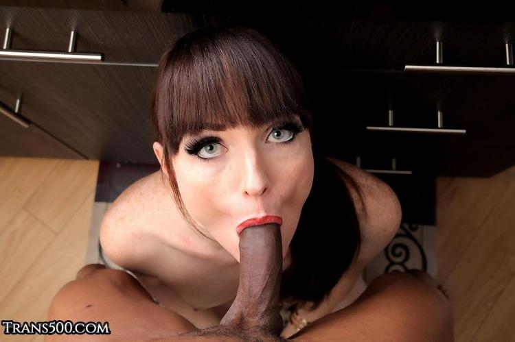 Natalie Mars & Soldier Boi / Taking in That Black Cock [Trans500, IKillitts / HD]