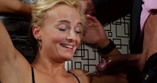 PissinginAction.com / FullyClothedPissing.com / Tainster.com [Kristina loves to piss on her escort] FullHD, 1080p