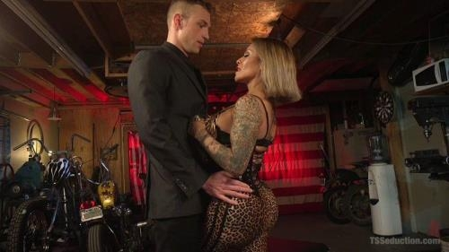 TSseduction.com / kink.com [TS Foxxy - Fills Alrik Angel\'s Tank With Hard Dick] HD, 720p