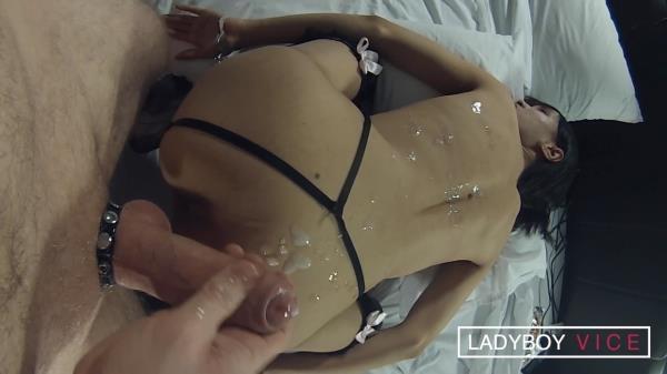 LadyboyVice - Ming - Helplessly Cuffed [HD, 720p]
