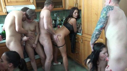 CzechHomeOrgy.com / CzechAV.com [Czech Home Orgy 10 - Part 9] HD, 720p