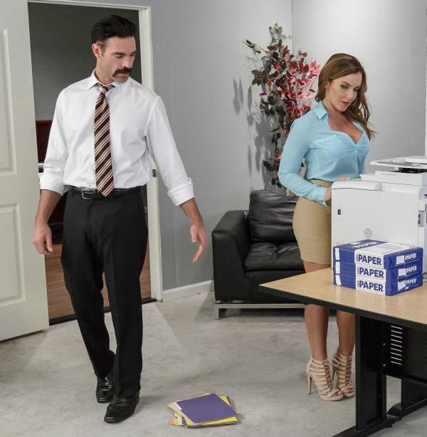 Natasha Nice - Office Initiation  (BigTitsAtWork/Brazzers/SD/480p/300 MiB) from Rapidgator