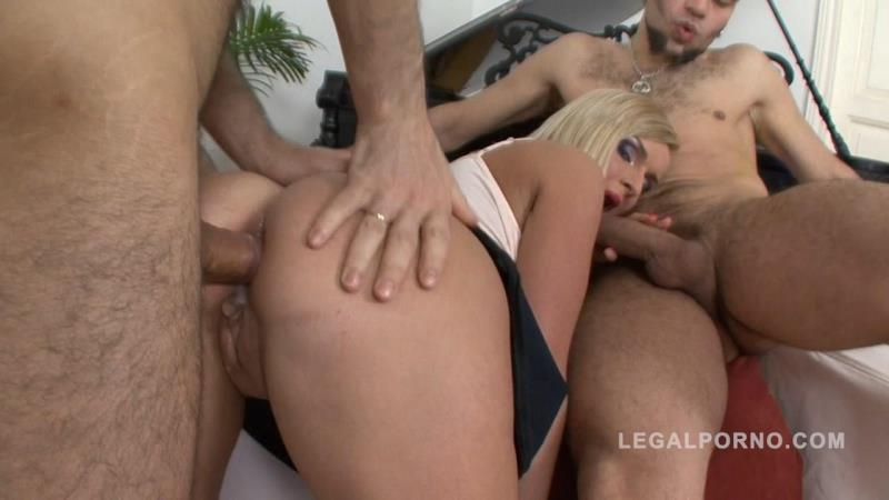 LegalPorno.com: Big butt slut Alina assfucked & DP'ed NR248 [HD] (671 MB)