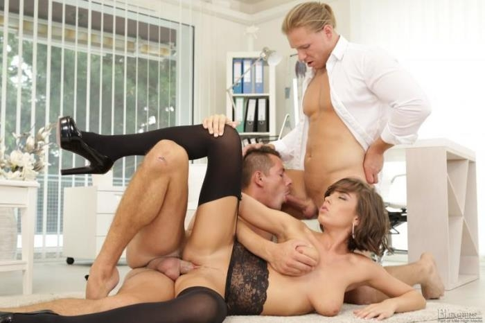 Anabelle, Nick Gill, Mark Black - Birthday Surprise! (Bi Empire) HD 720p