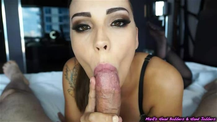 Sasha Foxx - Sashas Sensual Blowjob (Mark\'s head bobbers and hand jobbers, Clips4Sale) SD 540p