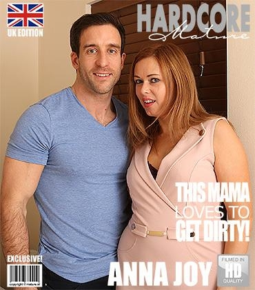 Mature.nl / Mature.eu [Anna Joy (EU) 37 - British mom fucking and sucking] FullHD, 1080p