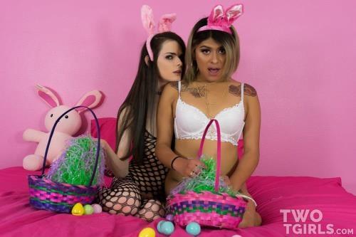 Twotgirls.com [Kira Crash & Beth Bell - Easter Sluts Fuck Like Rabbits] FullHD, 1080p