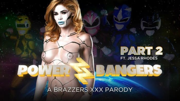 Jessa Rhodes & Katrina Jade - Power Bangers: A XXX Parody Part 2 / 28-04-2017 (ZZSeries, Brazzers) [SD/480p/MP4/243 MB] by XnotX