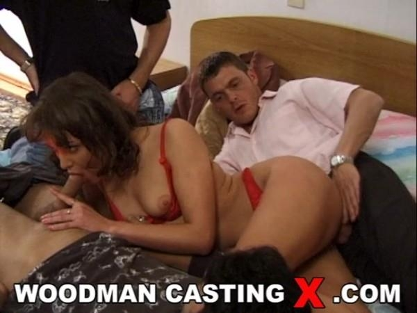 WoodmanCastingX.com: Liena - BTS - In bed with 3 men [SD] (89.1 MB)
