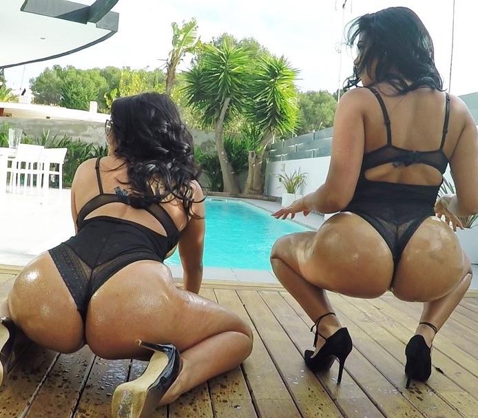 Kesha Ortega, Sheila Ortega - Ass Sisters [FullHD 1080p]