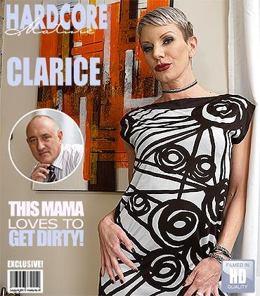 Clarice (42) - Kinky mom fucking and sucking / 25-04-2017 (Mature.nl, Mature.eu) [FullHD/1080p/MP4/1.18 GB] by XnotX