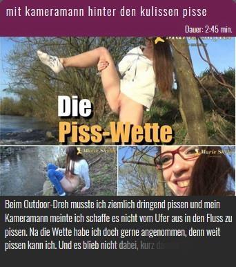 NurdaSeine: Marie-Skyler - Mit kameramann hinter den kulissen pisse (HD/720p/115 MB) 21.04.2017