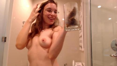 Scat [Dirty flirting in the bathroom] FullHD, 1080p