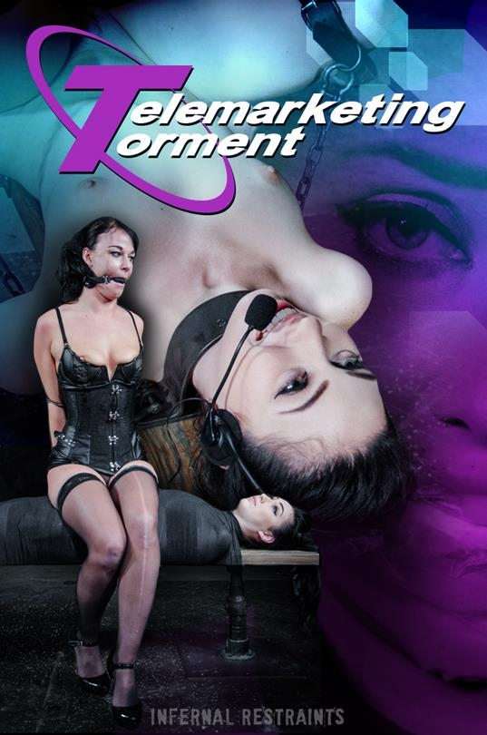 InfernalRestraints.com: London River - Telemarketing Torment [SD] (510 MB)