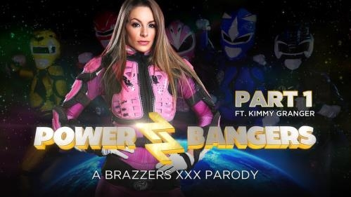 ZZSeries.com / Brazzers.com [Kimmy Granger - Power Bangers: A XXX Parody Part 1] SD, 480p