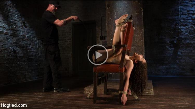 Gabriella Paltrova - Super Slut is Subjected to Brutal Torment and Bondage! [HogTied / HD]