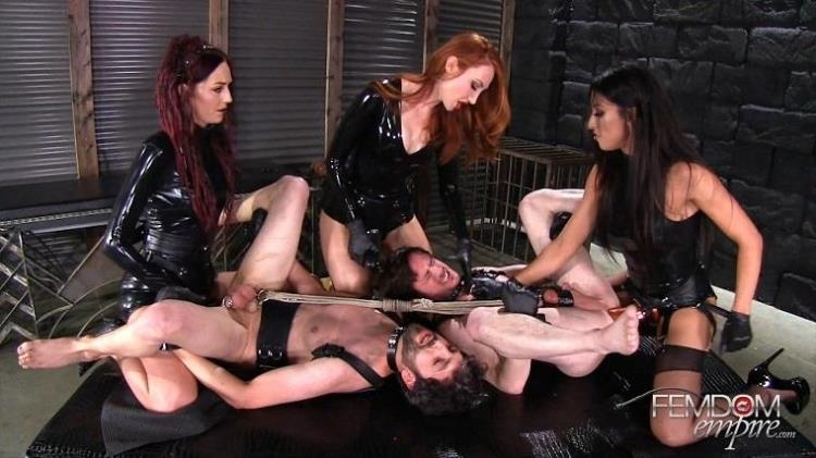 Kendra James, Sablique Von Lux, Tangent - Female Rule [FemdomEmpire / FullHD]