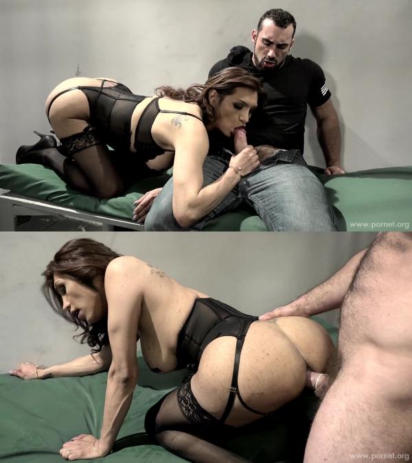 Jessy Dubai, Jaxton Wheeler - TS Hookers 2  (Scene 1) [FullHD 1080p] - DevilsFilm.com