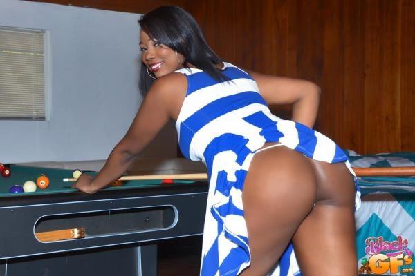 BlackGFs, GFLeaks - Ashanti Miller - Billiards And Boobs [SD, 432p]