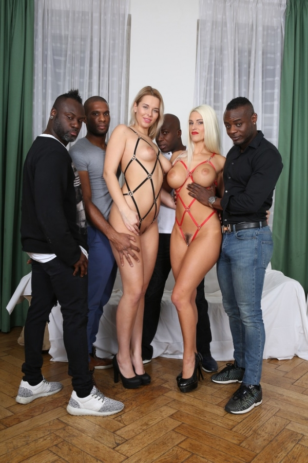 Blanche Bradburry, Nikky Dream - Blanche Bradburry & Nikky Dream - those two blondy bitches discover black sensation IV052 (LegalP0rno) [HD 720p]