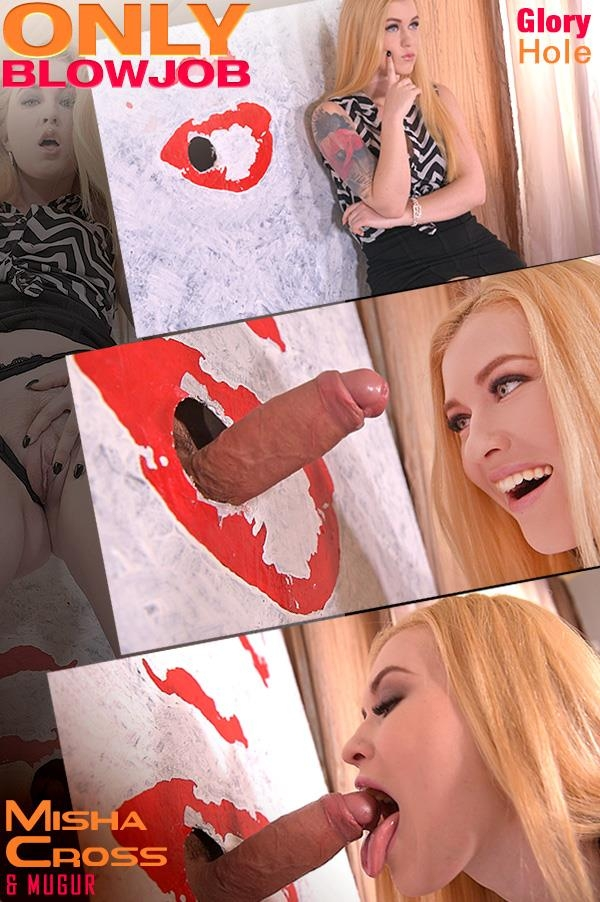Misha Cross - Art Redefined: Glory Hole Blowjob Porn in The Office [DDFNetwork, OnlyBlowJob / SD]