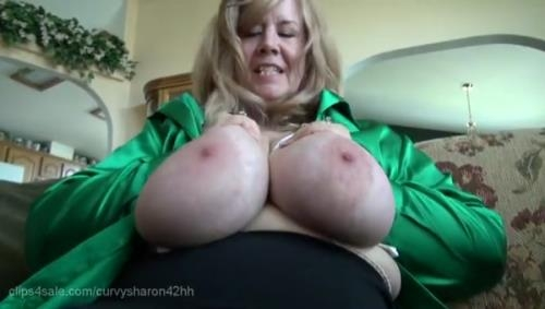Clips4Sale.com / Southern-Charms.com [Curvy Sharon - Nursing You In My Bare-Butt Girdle] SD, 480p