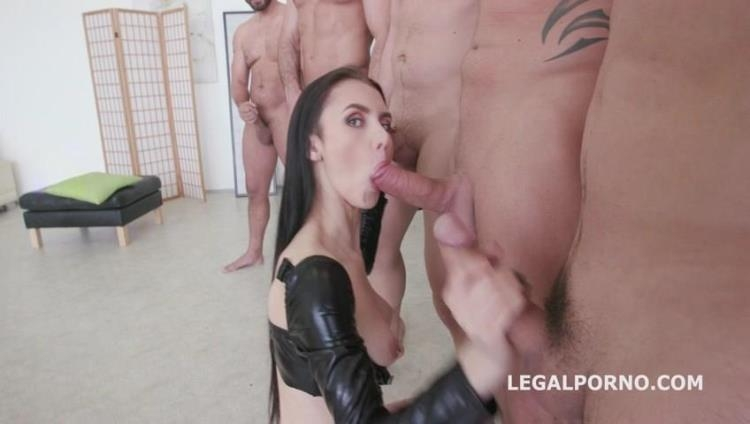 7on1 Double Anal GangBang with Crystal Greenvelle GIO346 [LegalPorno / SD]