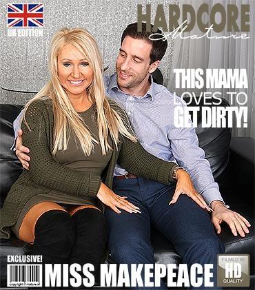 Mature.nl, Mature.eu: Miss Makepeace (EU) (48) - Hot housewife fucking and sucking (FullHD/1080p/1.47 GB) 25.04.2017