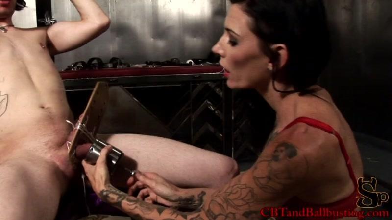 CBTandBallbusting.com: Simone Kross - Heavy Metal - Full [HD] (961 MB)