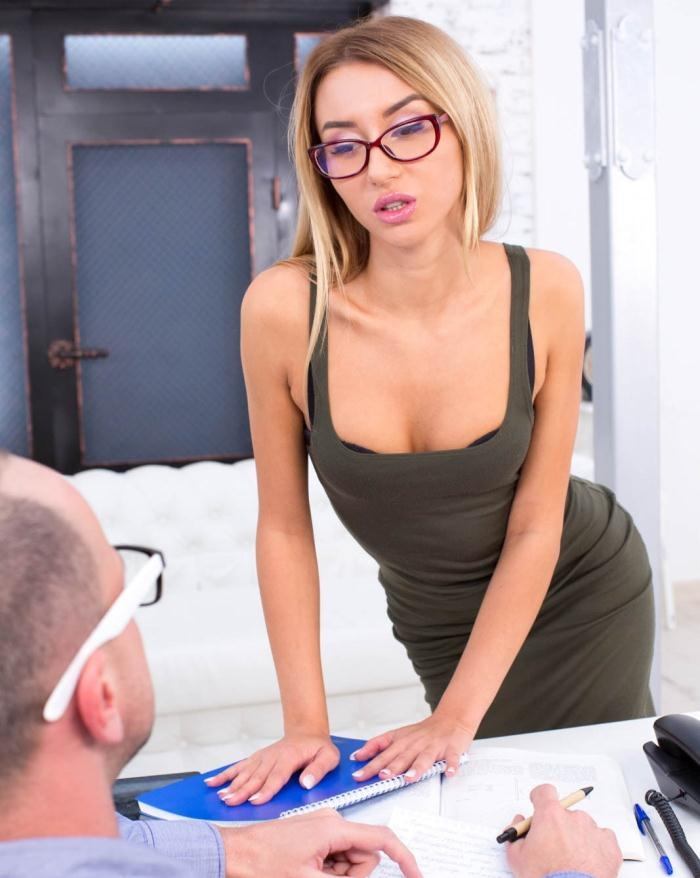 Katrin Tequila - Hot Geeky Teen Katrin Tequila becomes an anal addict  [HD 720p]