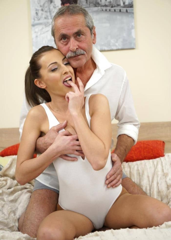 Katy Rose- Old Cock Meets Young Pussy  [FullHD 1080p] GrandpasFuckTeens