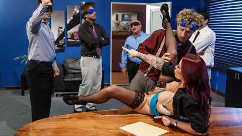 BigTitsAtWork.com / Brazzers.com [Monique Alexander - Team Building Sexcercise] SD, 480p
