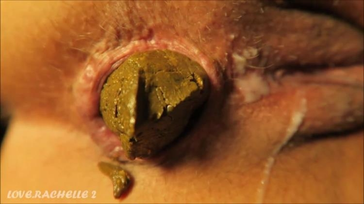 Love Rachelle - 2 Close-Up Shits - Super Detail [Scat / FullHD]