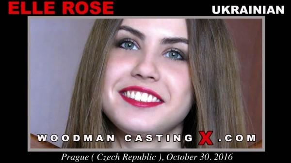 Elle Rose - Ukrainian Girl on French Casting [Woodmancastingx / FullHD]