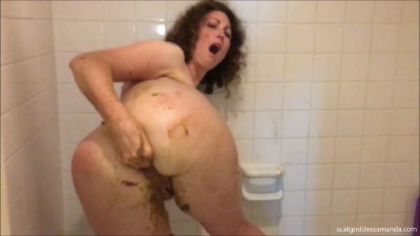 Scat Porn - Scat Goddess - Bathtub Enema Scat Play - Extreme Solo [FullHD, 1080p]