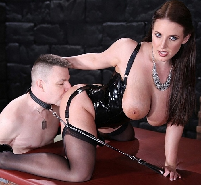 FemdomEmpire - Angela White - Angelas Ass Licker  (1080p / FullHD)