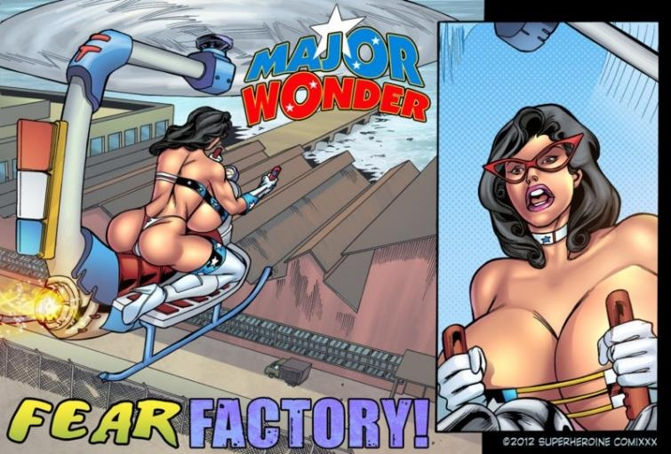 Major Wonder Woman Gets the Gangbang of her Life - Fear Factory Raw 1 by Superheroinecomixxx [23  pages]