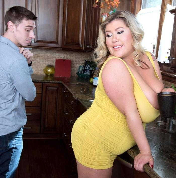 XLGirls/PornMegaLoad: Kacey Parker - Kitchen Heat  [HD 720p]  (BBW)