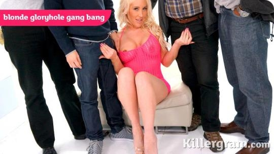 GloryHoleGaggers, Killergram: Lexi Ryder - Blonde Gloryhole Gang Bang (SD/360p/239 MB) 02.05.2017