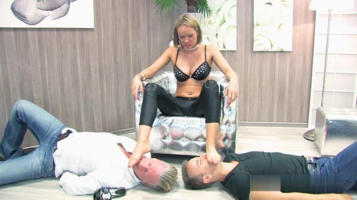 Ouch! The Heels In Their Faces Hurt Very Much (lady-sue, Clips4sale) FullHD 1080p