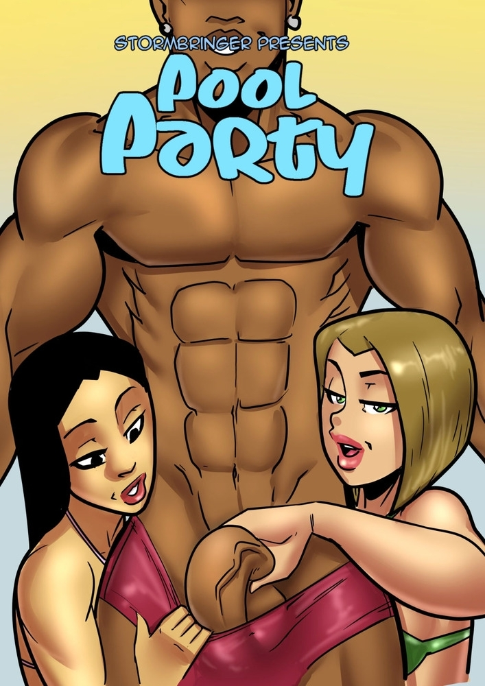 White sluts who love big black dicks in their tight pussies in John Persons Pool Party (comics/25  pages/11.20 MB)
